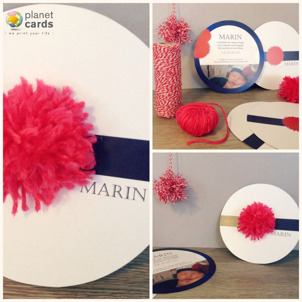 Faire part naissance marin diy th me marin pinterest for Theme marin decoration
