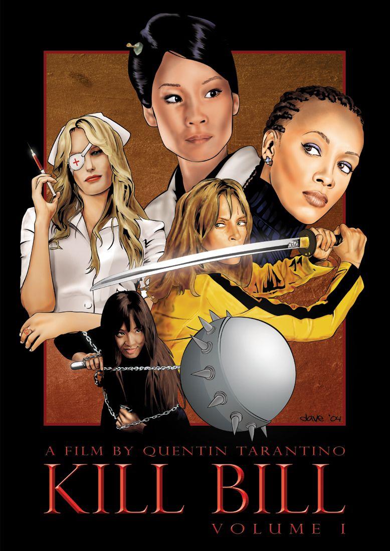 Kill Bill Vol 1 Carteles De Peliculas Poster De Cine Poster De Peliculas