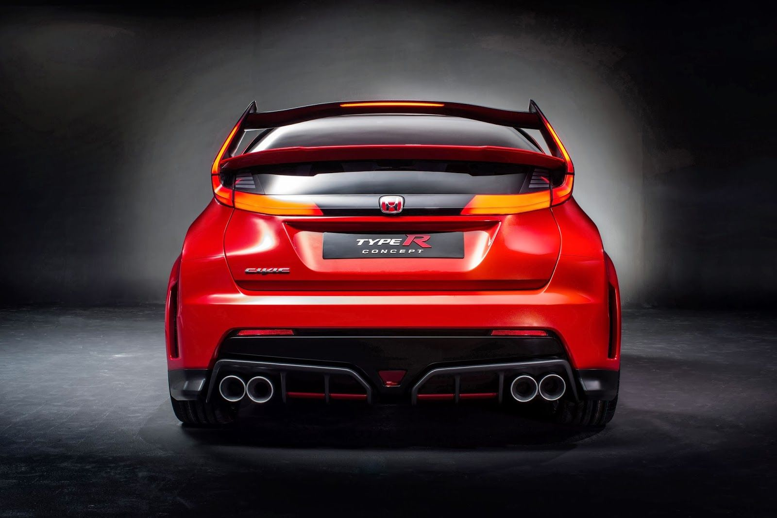 Speedmonkey 2014 Honda Civic Type R Concept Honda civic