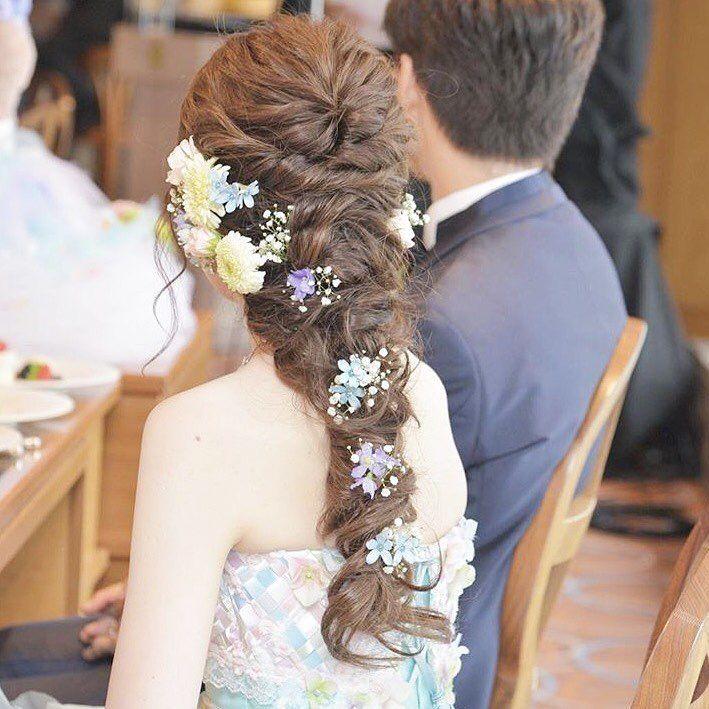 プレ花嫁の結婚式 ウェディング 準備サイト Marryマリーさんはinstagramを利用しています ブルーの大人可愛い