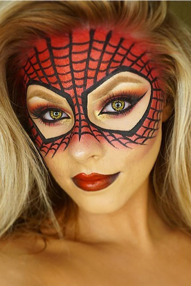 36 Sexy Halloween Makeup Looks That Are Creepy Yet Cute Costume - cute makeup ideas for halloween