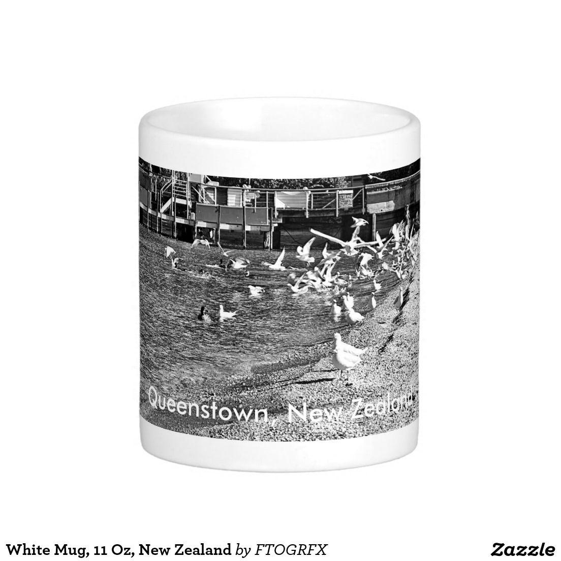 White Mug, 11 Oz, New Zealand Basic White Mug Mugs, Tea