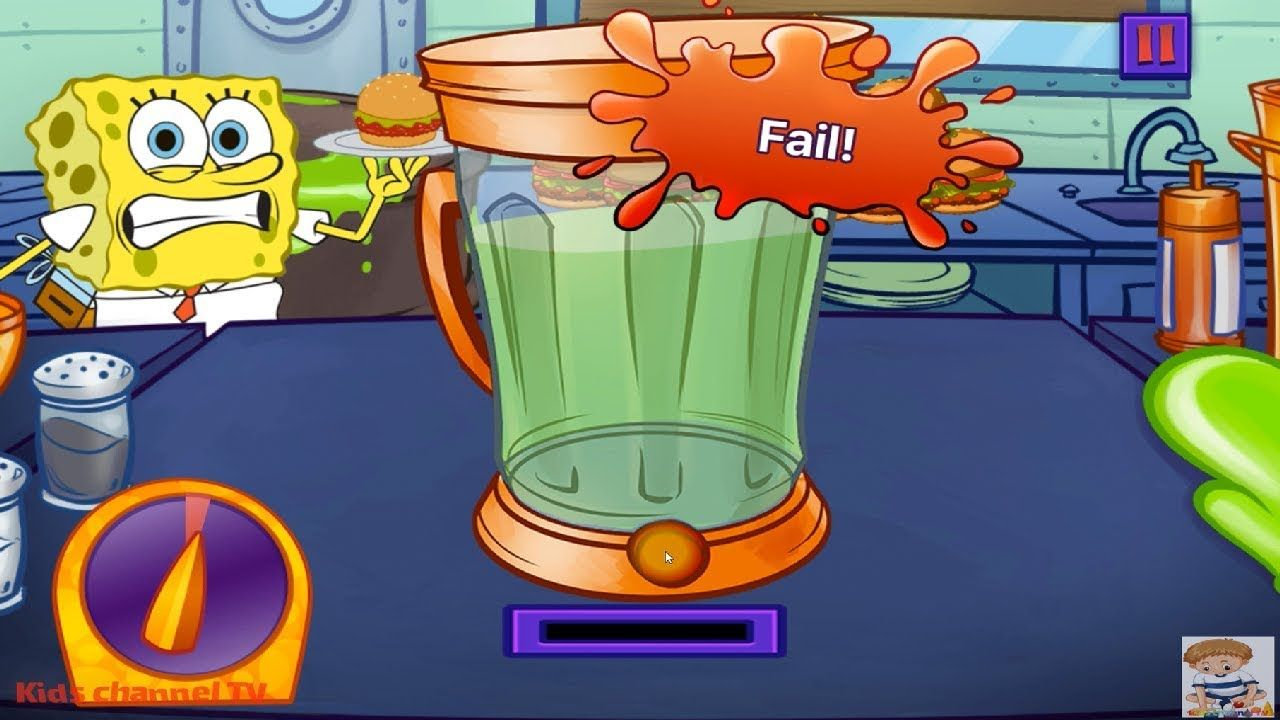 Nickelodeon Cooking Contest (Nickelodeon Games) - Cartoon