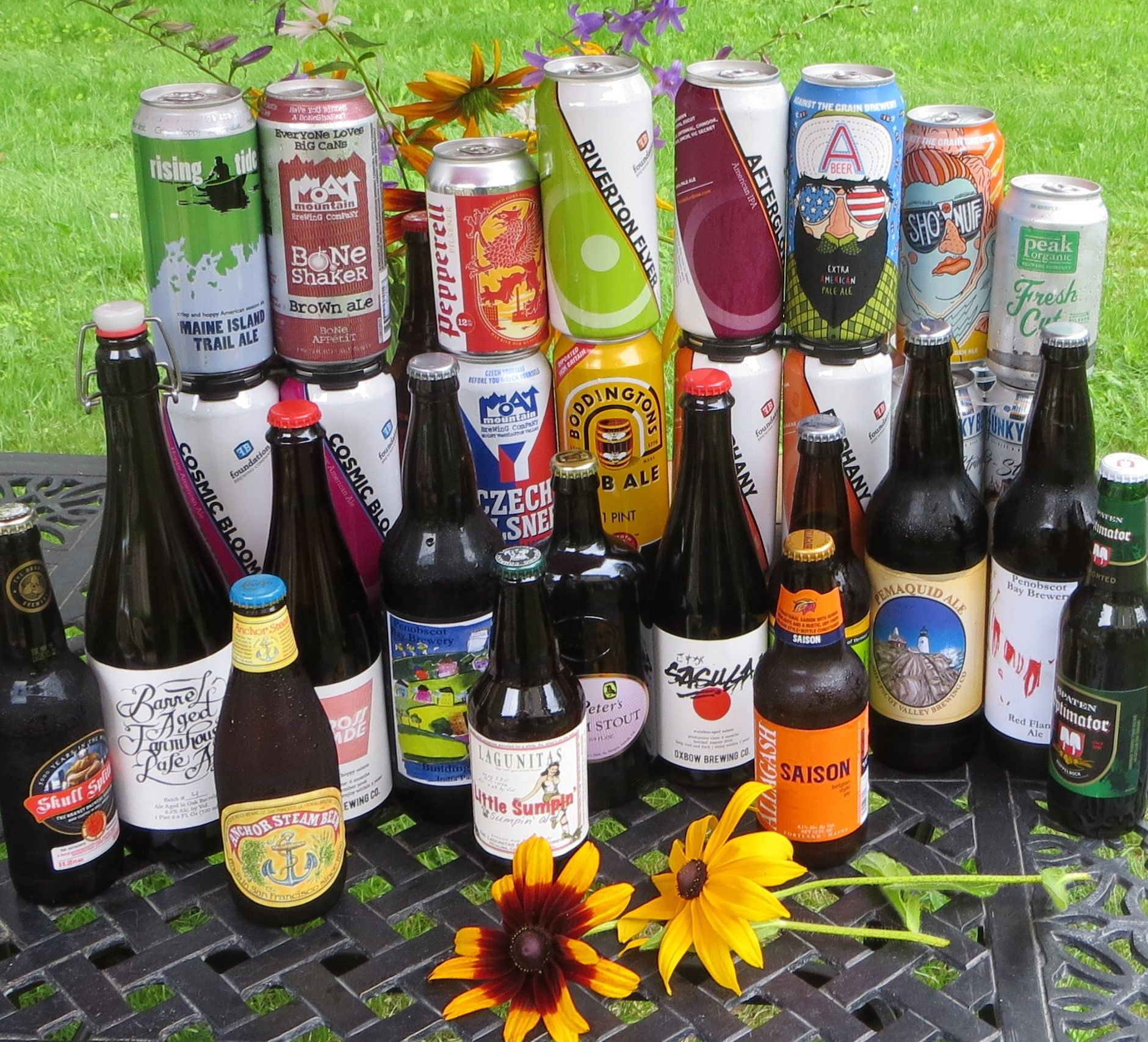 Find craft beer and local maine brews at the black sheep