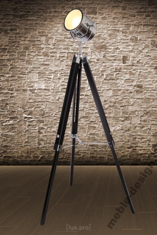 Lampa Podłogowa Lampa Studio Reflektor Led Regulac Salon