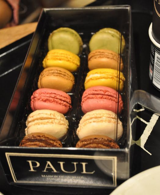 Paul Macaroons  Lunch At Paul French Bakery & Restaurant