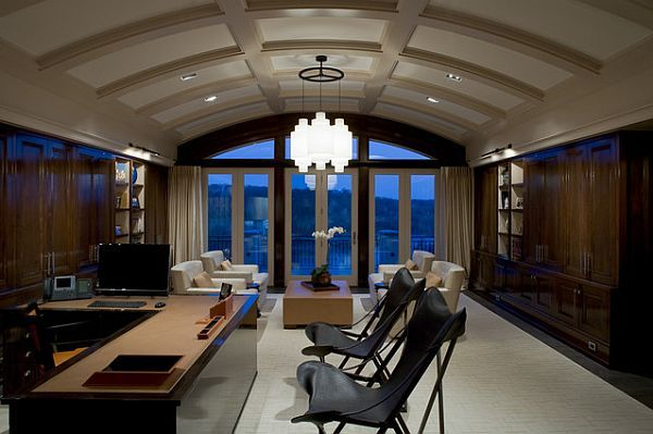 Barrel Vaulted Ceilings By Jim Tetro Office Ideas