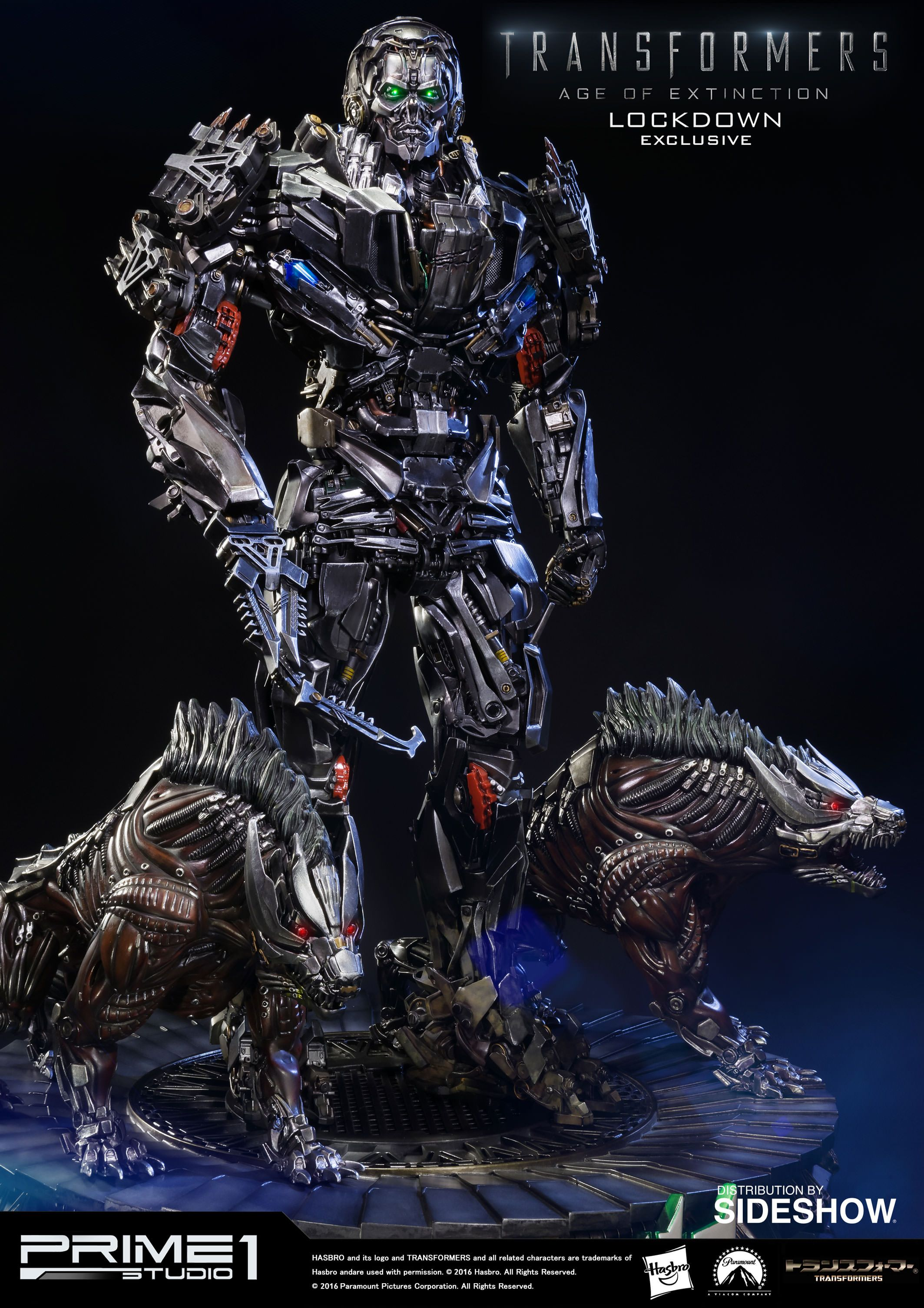 transformers lockdown polystone statue by prime 1 studio sideshow collectibles jouet et. Black Bedroom Furniture Sets. Home Design Ideas