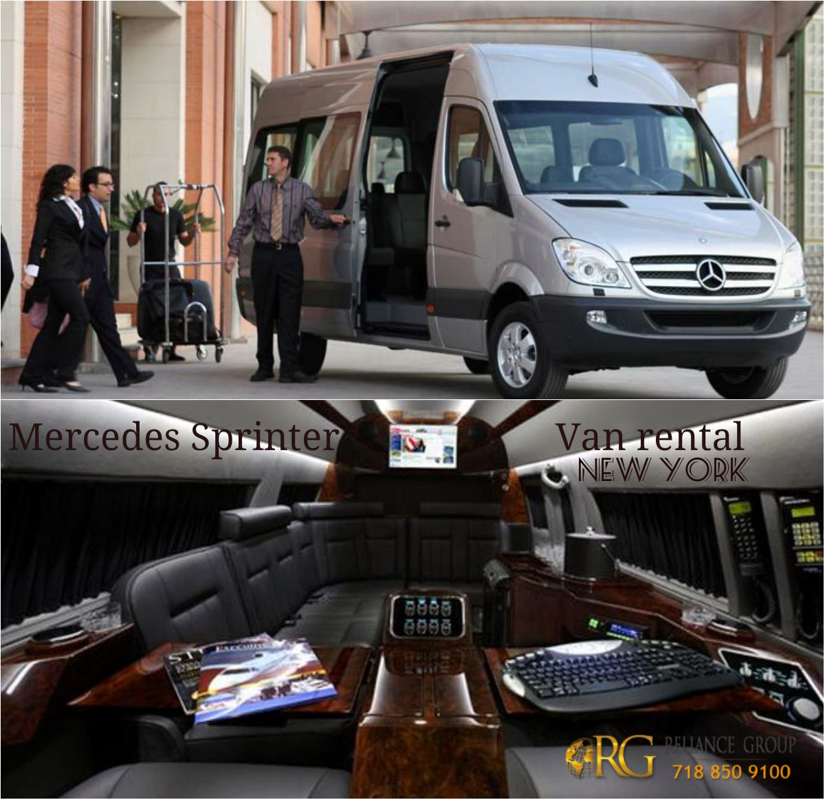 sprinter rental atlanta benz mercedes limo luxury passenger van seater executive