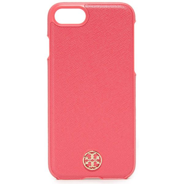 0545d19a1 Tory Burch Robinson Hardshell IPhone 7 Case ( 65) ❤ liked on Polyvore  featuring accessories