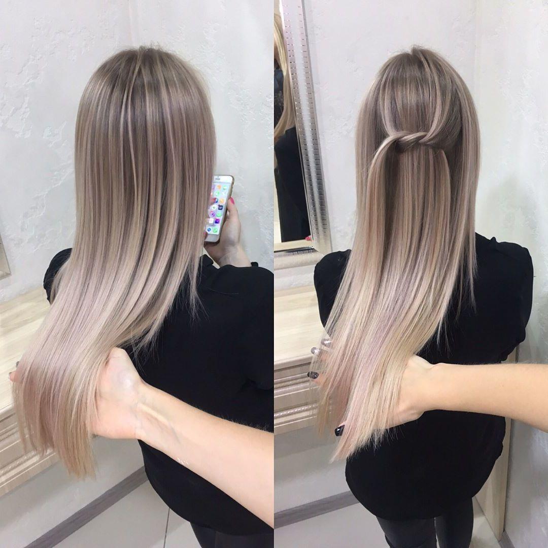 Das Aschblond Trifft Den Geschmack Aller Blond Junkies Frisurentrends Zenideen Haare Blond Farben Aschblond Aschblonde Haare