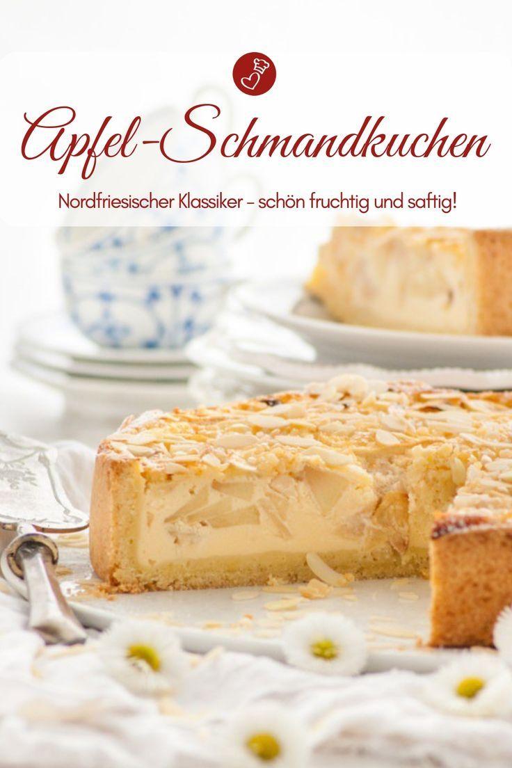 Nordfriesischer Apfel-Schmand-Kuchen - Rezept für einen Kuchentraum! #sweetpie