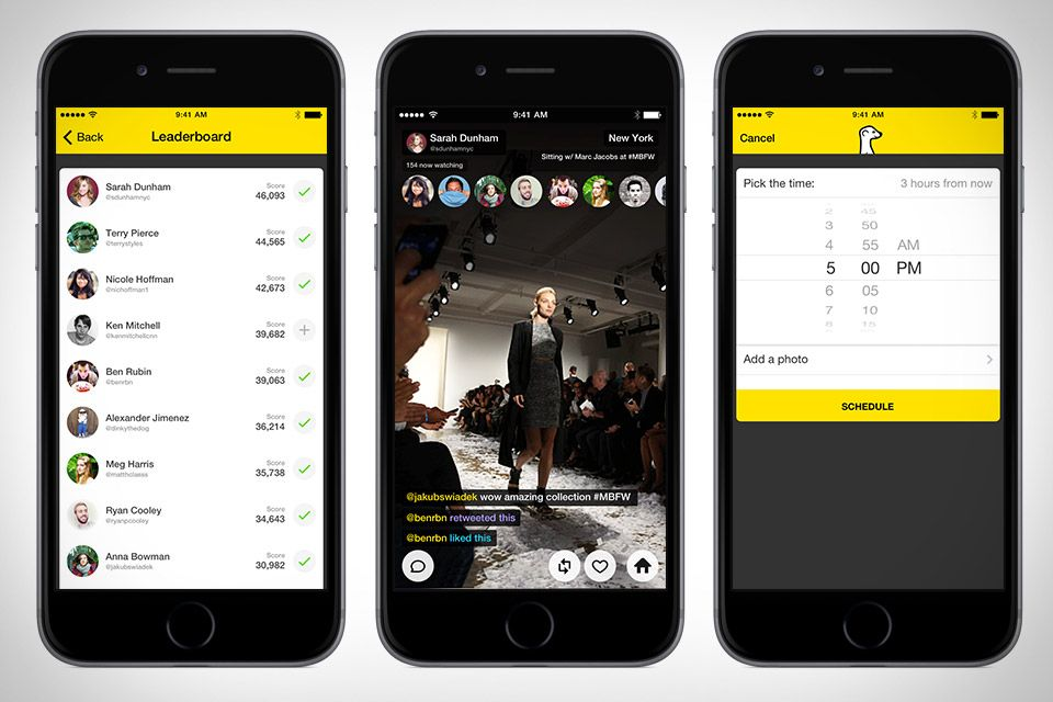 Streaming video has been around for years. The problem has been finding people to watch what you stream. Meerkat solves this problem by instantly sharing whatever you're filming with all your Twitter followers at once. Followers that have the app...
