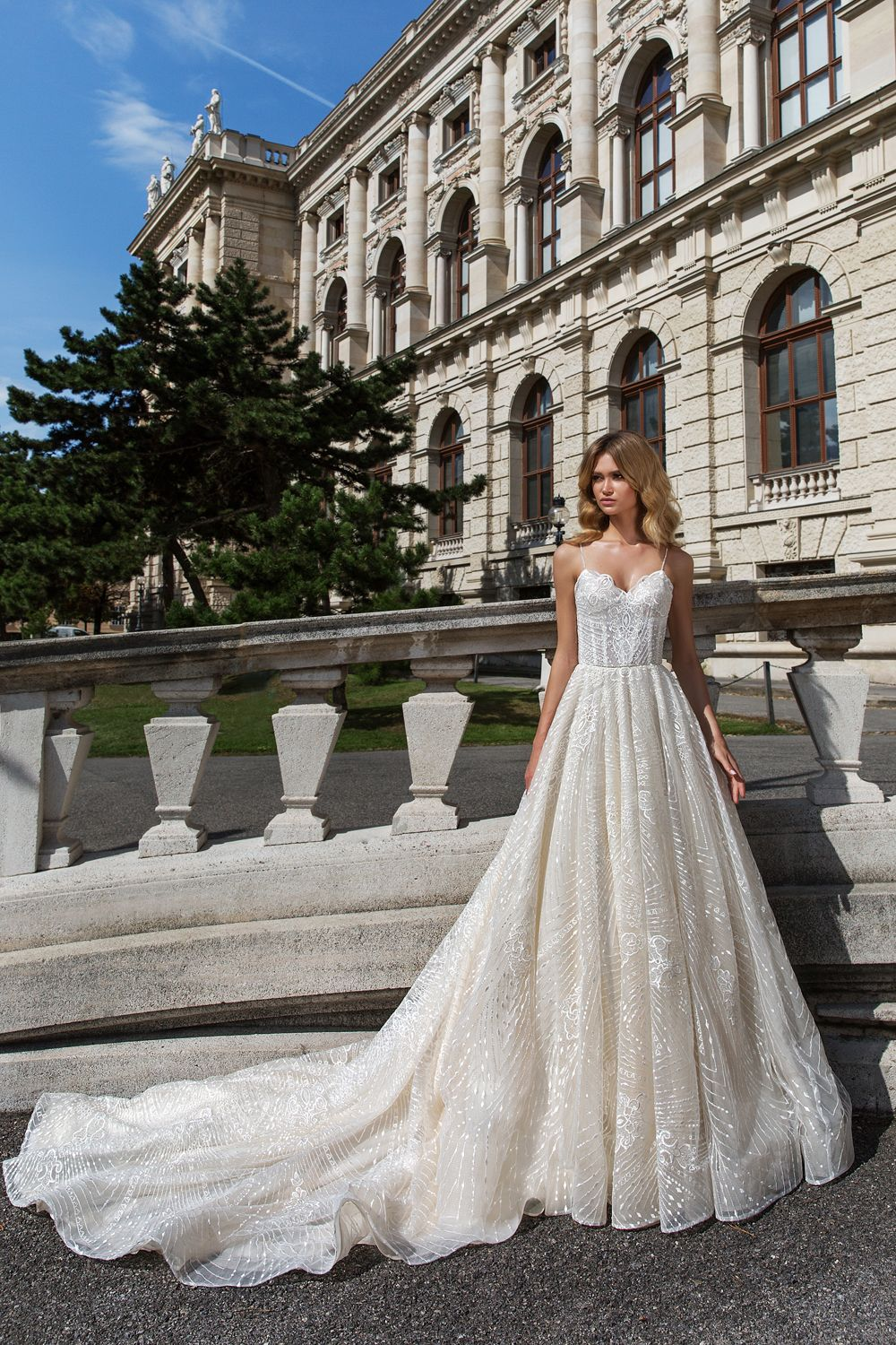 Sofie by crystal design exclusively available at merlili bridal in