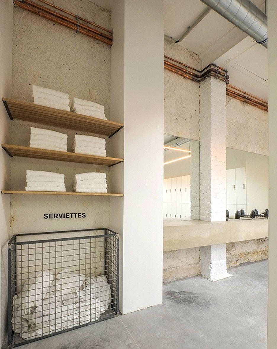 DAS Studio converts Parisian printing factory into indoor cycling studio More