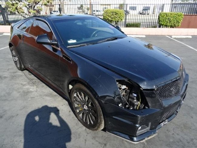 2014 Cadillac CTS Coupe Salvage Wrecked Repairable | Wrecked