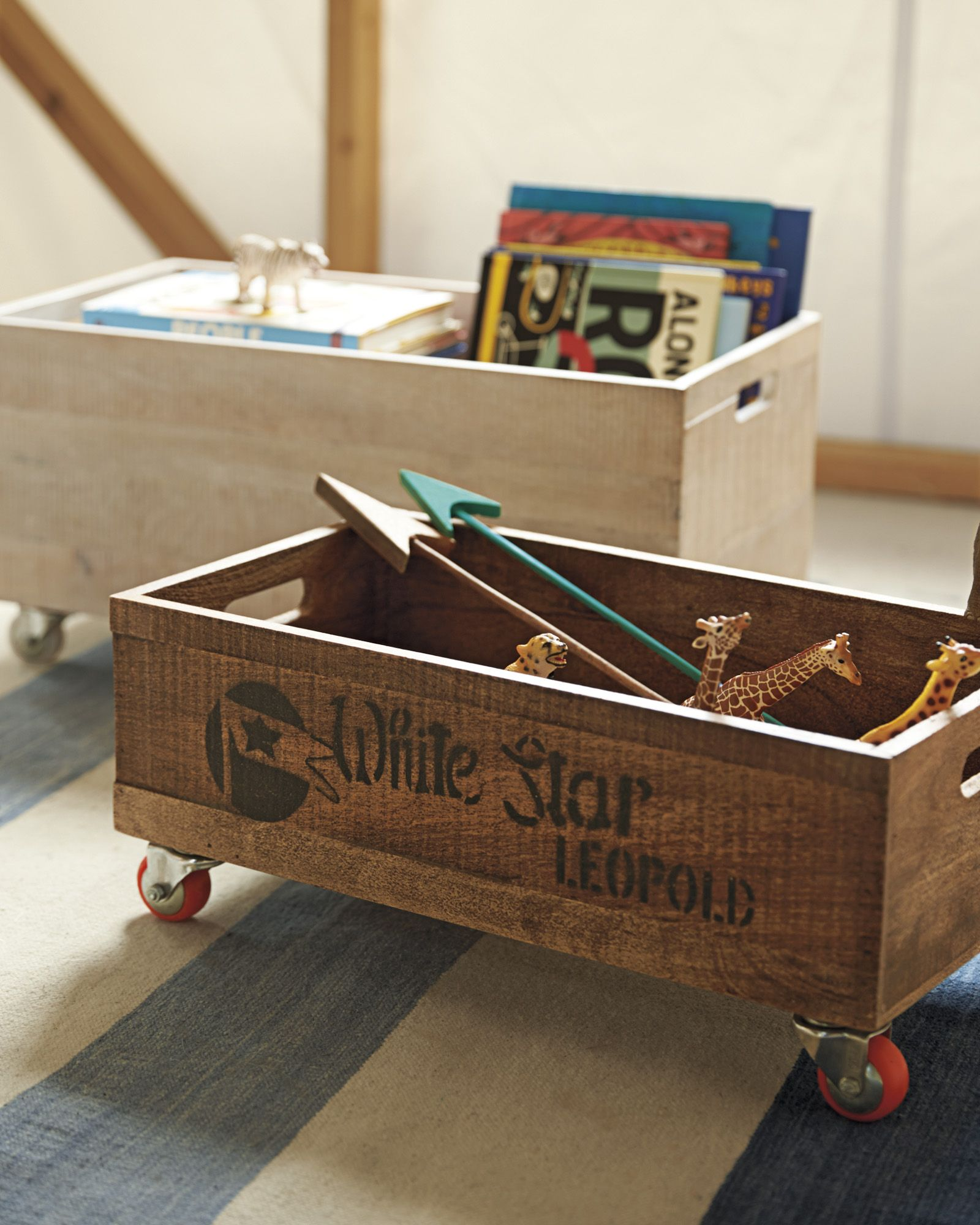High Quality We Love These As Rolling Book Carts, Toy Bins, Or Catchalls For Odds And  Ends. The Smallest Size Can Even Fit Under Most Beds (the Perfect Clutter U2026