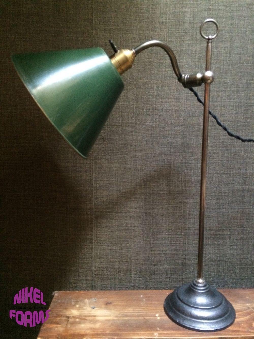 ancienne lampe de bureau monix par