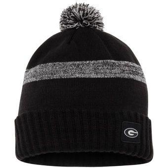 Nike Black Georgia Bulldogs Textured Cuffed Knit Hat  8b1e601d198