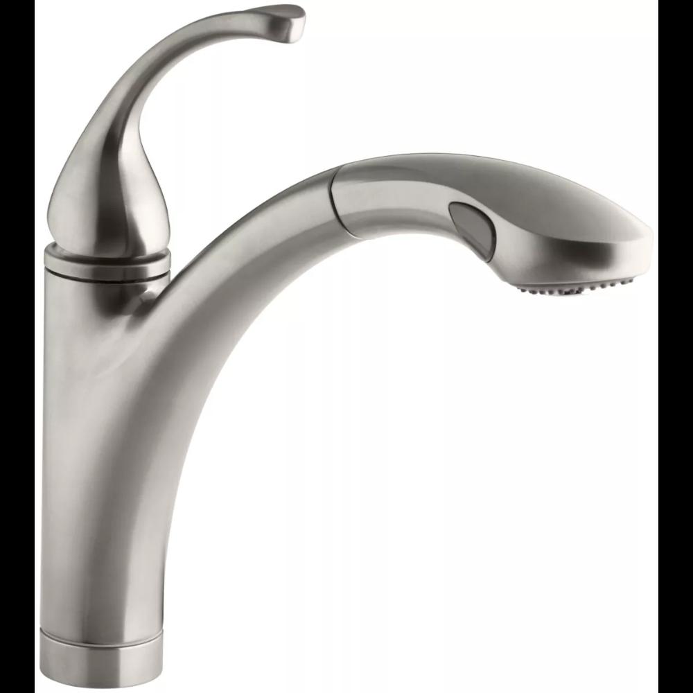 Kohler K 10433 Bv Forte 1 5 Gpm Single Hole Or Build Com Kitchen Sink Faucets Kitchen Faucet Sink Faucets