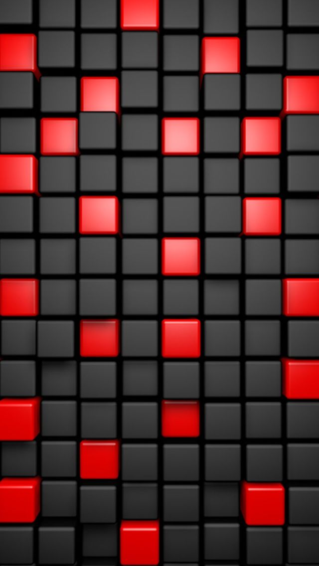 Red And Black Abstract Google Search 3d Cube Wallpaper Full Hd Wallpaper Mobile Wallpaper Android