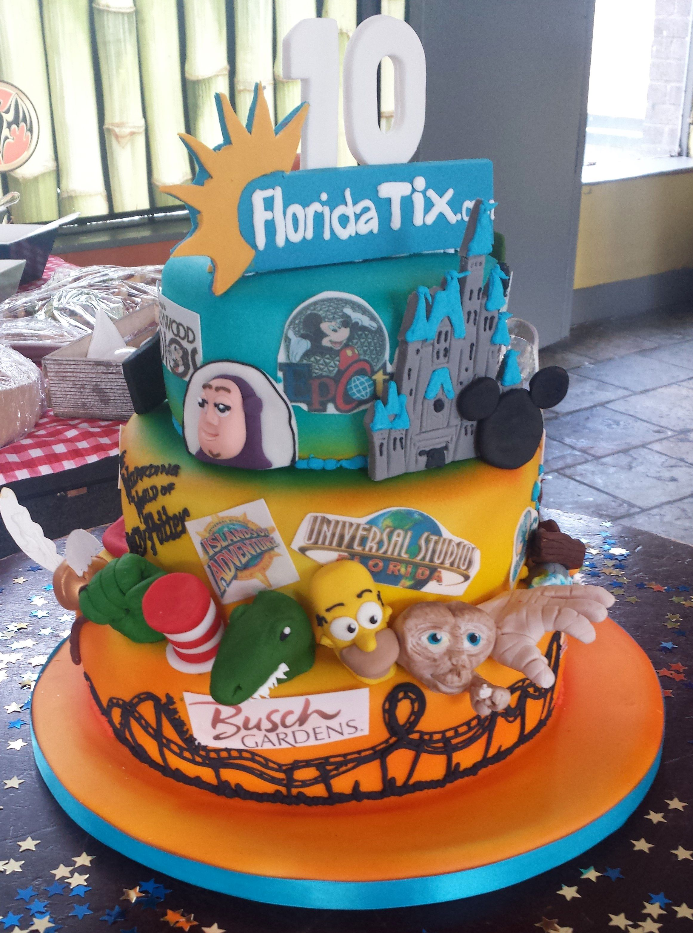 Best Birthday Cake Ever? #Florida #Orlando #DisneyWorld