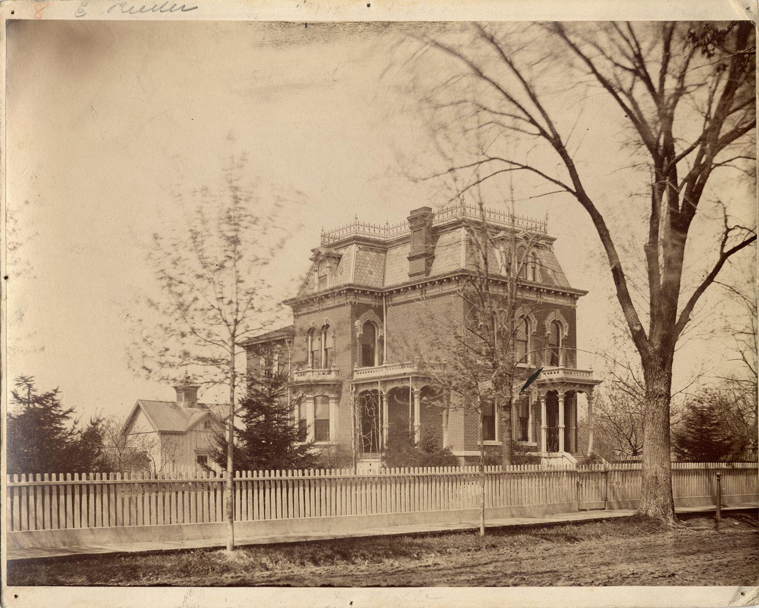 Edwin Reeder Residence Dpl Dams Detroit 5 Indian Ave N Of Fort W 1881 Cc Detroit Houses Detroit City Detroit History