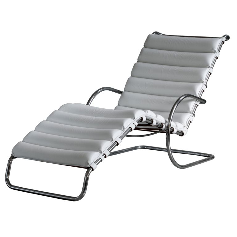 Mies Van Der Rohe MR Chaise Lounge For Knoll