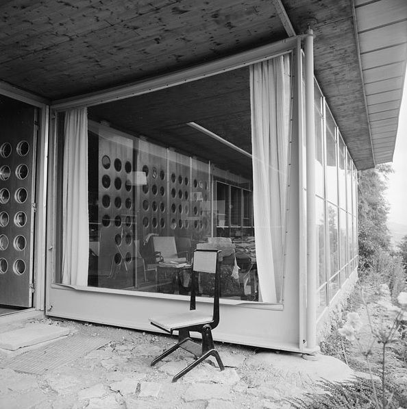 La maison de jean prouv nancy france 1954 pompidou centre mnam bcc library kandinsky - Maison de jean prouve ...