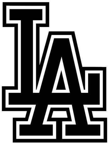 La Dodgers Logo Vinyl Decal Sticker California Baseball Sports Los