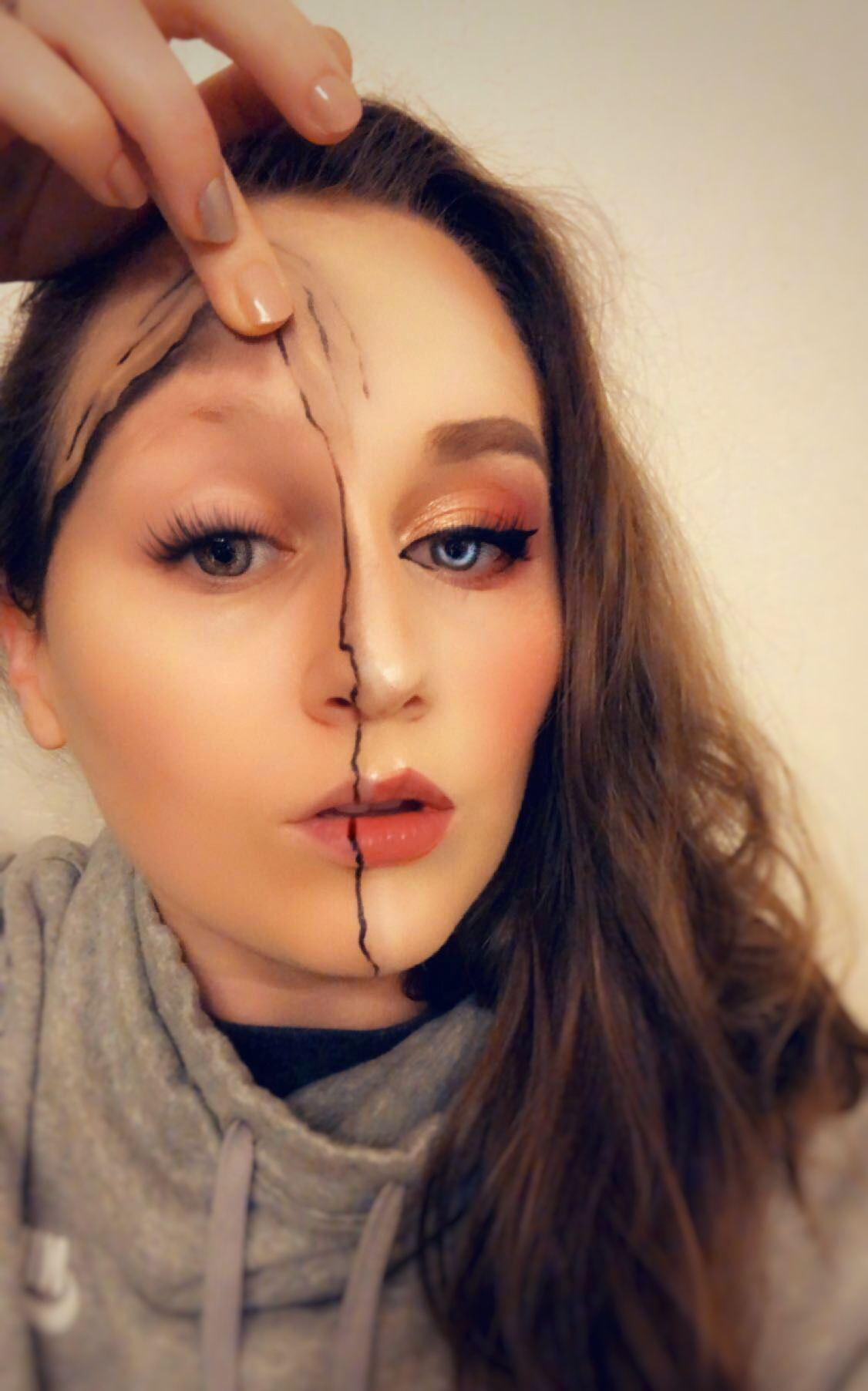 Halloween makeup (With images) Diy gifts cute, Halloween