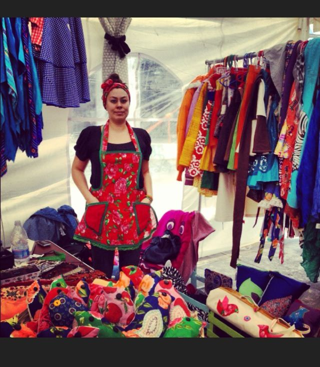 100% Original Designs hand-made with love by Me! Grétel Crevette. <3 <3  #bazaar #designer #fashion #ethnic #design #colorful