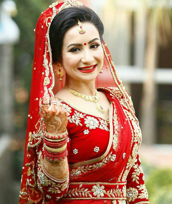 Nepali Wedding Tradition Nepal Marriage Bride Makeup Simple