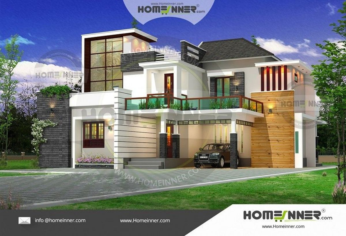 Architecture Design For Home In India Free Luxury 2800 Sq Ft 4 Bhk Ultra Modern Indian Duplex House Plan Sims 4 Casas Casas Sims