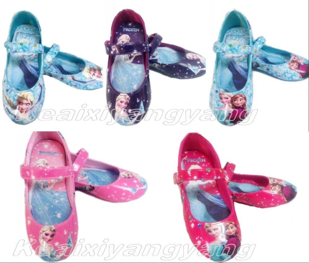 741f5eb218 New Frozen Elsa Princess Cosplay Shoes Girls Kids Baby Shoes More ...