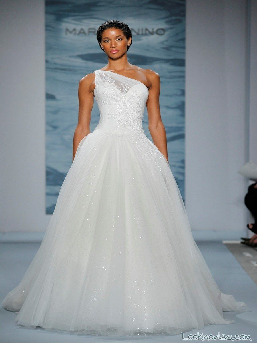 vestido de novia mark zunino 2015 | Say yes to the Dress | Pinterest ...