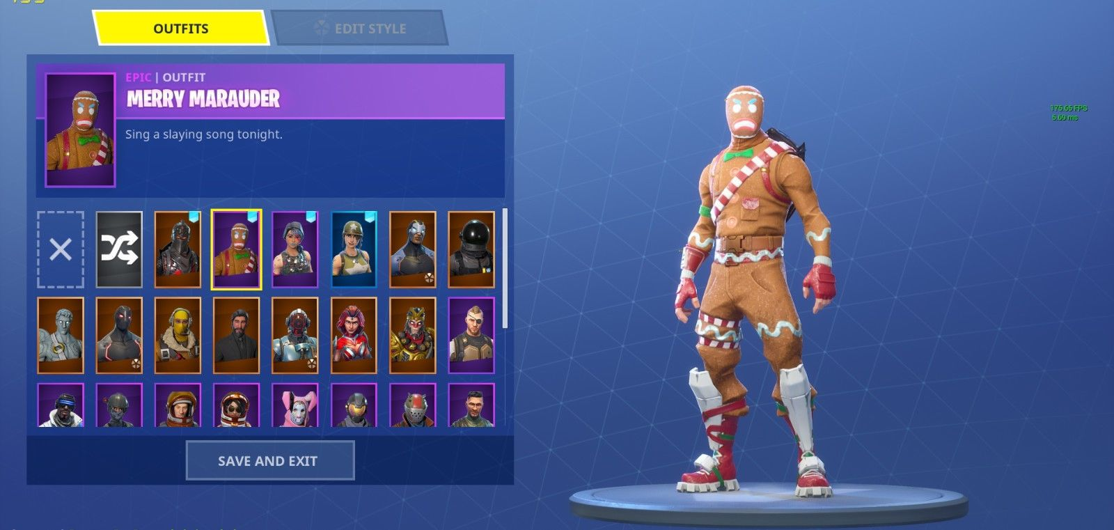 stacked account fortnite account for sell not a raffle gingerbread man - free stacked fortnite accounts