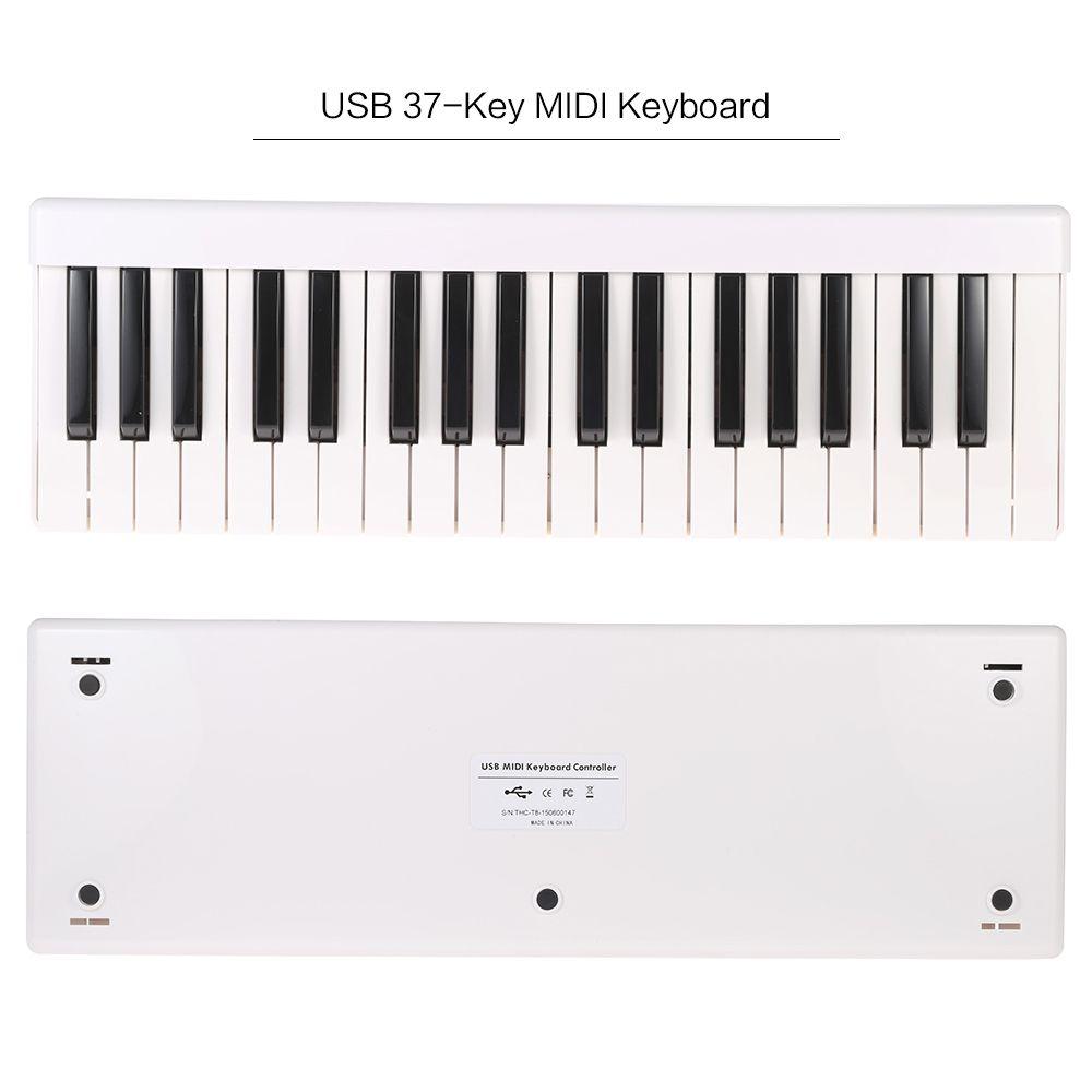 New High Quality GarageKey F37 Portable USB 37 Key MIDI