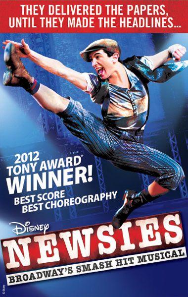 Newsies Broadway: Entertainment Memorabilia | eBay