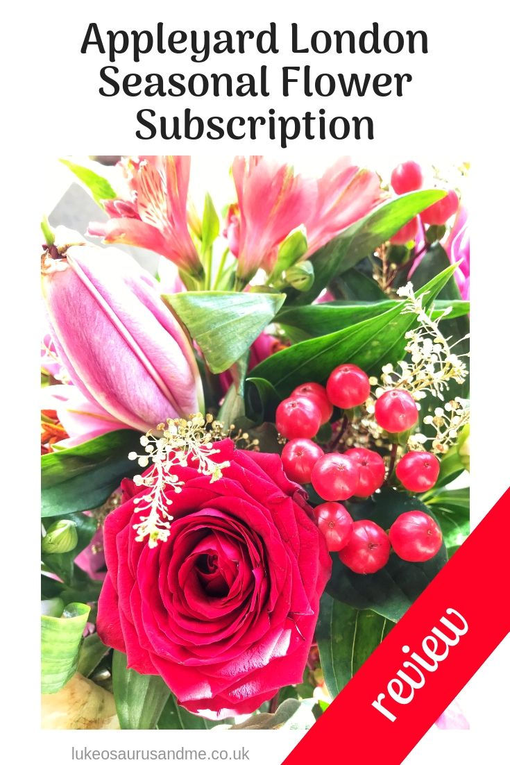 Review Appleyard London Seasonal Flower Subscription