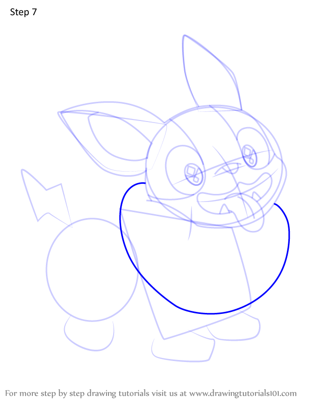 Learn How To Draw Yamper From Pokemon Pokemon Step By Step Drawing Tutorials In 2021 Drawing Tutorial Drawings Pokemon