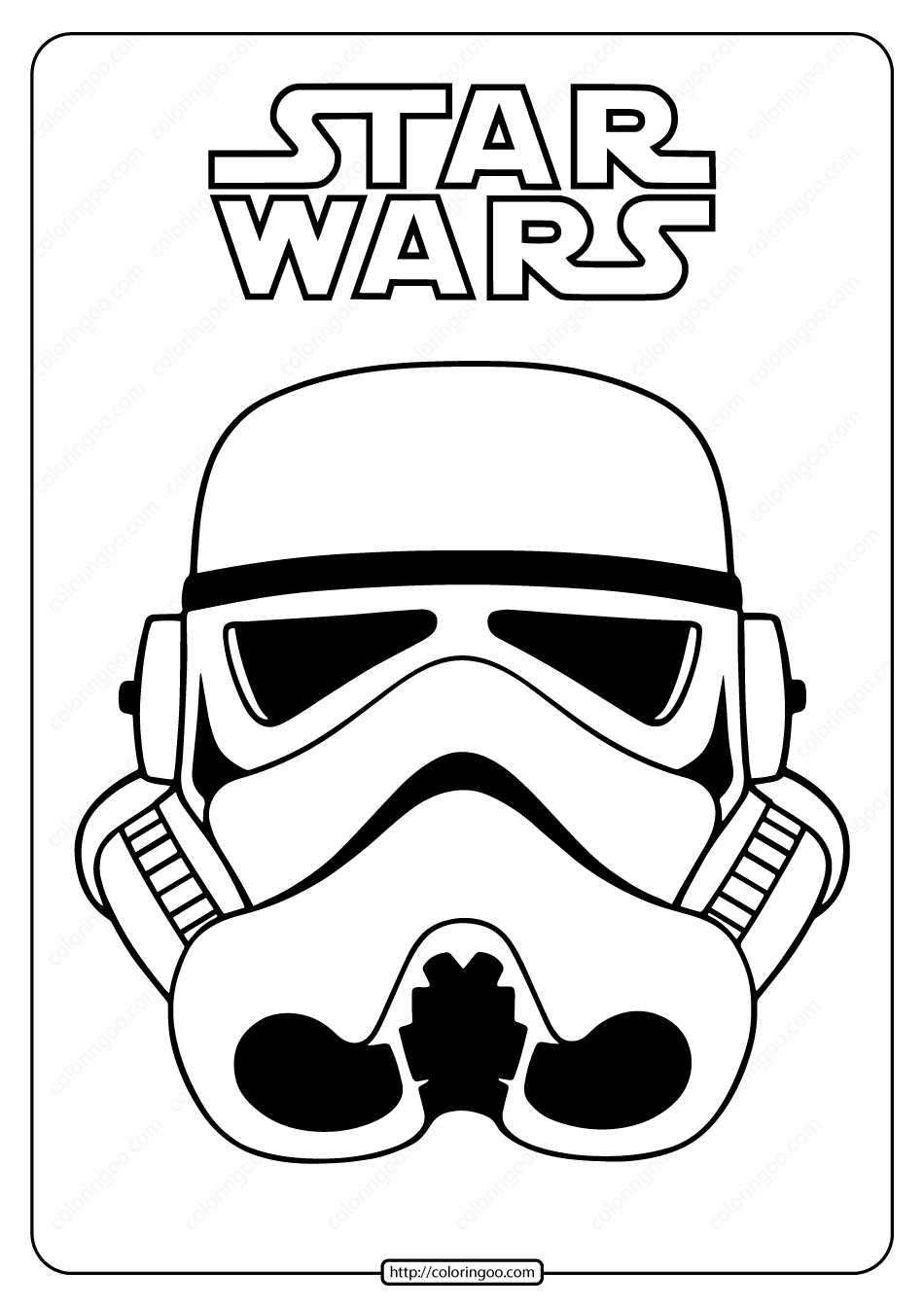 Star Wars Clone Trooper Mask Coloring Pages Star Wars Stickers Star Wars Mask Printable Star Wars Coloring Sheet