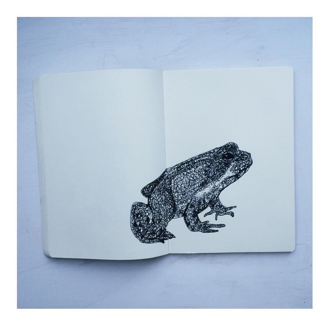 Hypno toad #etsy #print #pendrawing #art #illustration #illustrator #pen #ink #pendrawing #drawing #sketchbook #sketch #moleskine #art #artist #tattooflash #blackwork #blacklines #monochrome
