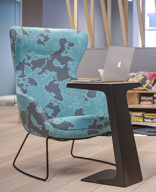 The Laptop Table Is A Simple Yet Effective Metal Table A Perfect Platform To Work On Where Space Is At A Premium With Images Laptop Table Table Furniture