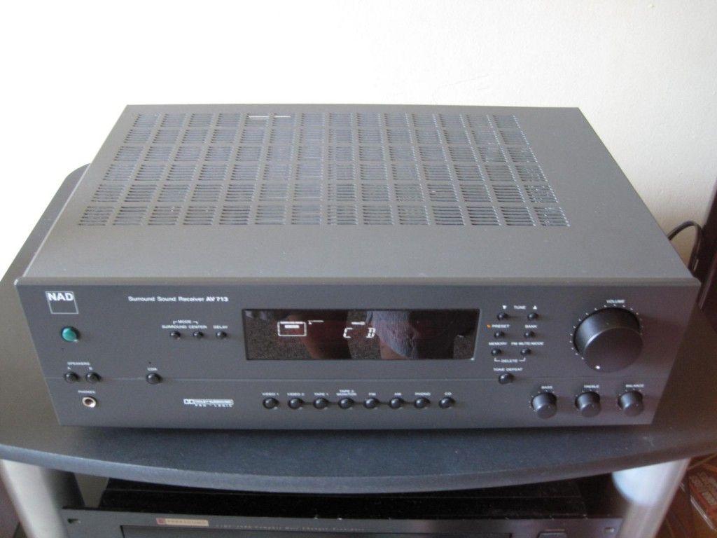 NAD AV 713 | my audio jouney | Bose, Audio, Remote