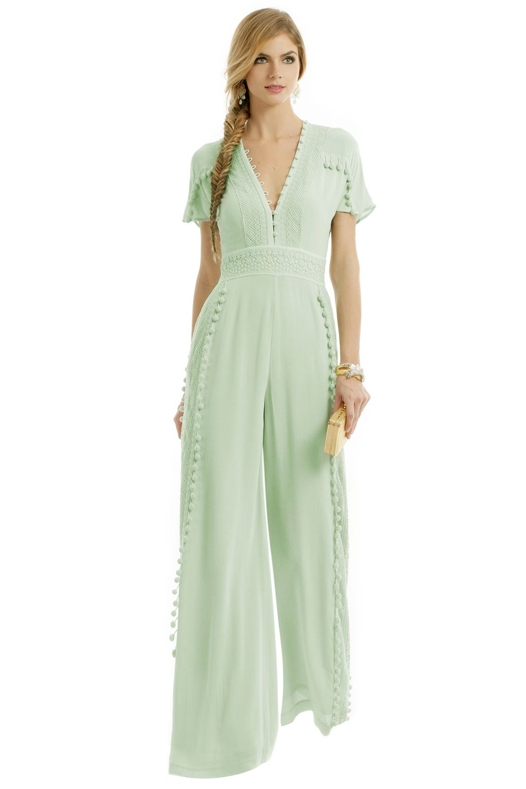 Dressy Tops For Wedding Guests.Marchesa Voyage Joplin Jumpsuit What I Want To Buy
