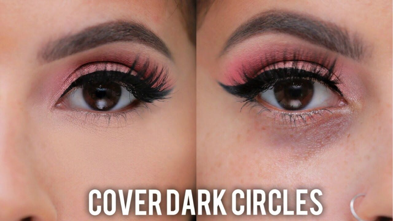 How to Cover Dark Circles & Under Eye Bags - YouTube ...