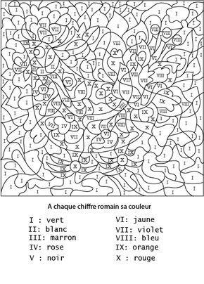 Coloriage Avec Chiffre