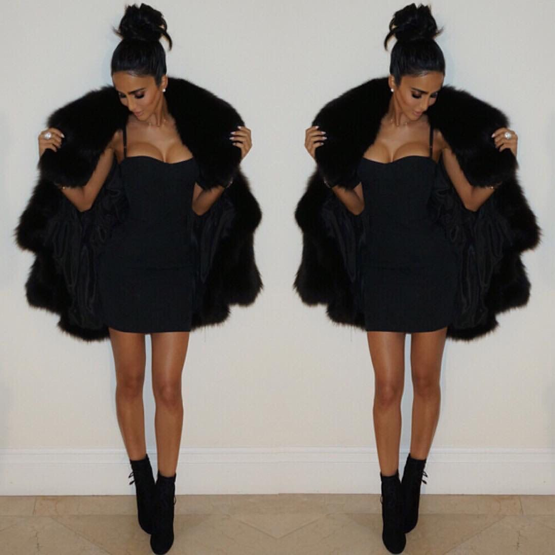 Styled Winter Party Dresses Celebrity