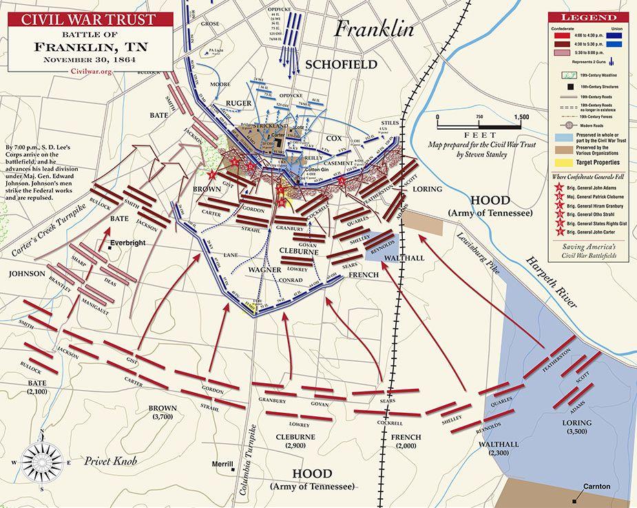 Civil War Battle Maps  War Trust Maps The Battle Of